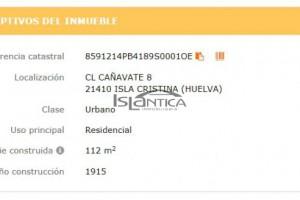 Islántica Inmobiliaria Casa Muelle Isla Cristina HUELVA