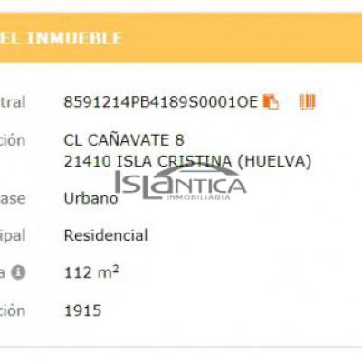 1154 Casa Muelle Isla Cristina