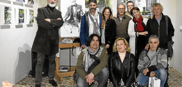 Poesia, música y pintura en la presentación de nuevos poemarios en Ayamonte